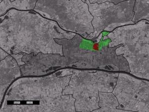 Opheusden - Image: Map NL Neder Betuwe Opheusden