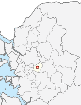 Location of Seongnam