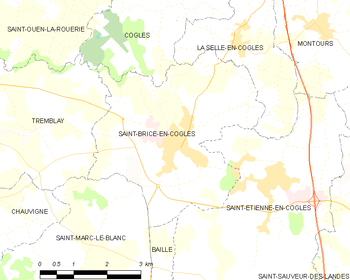Saint brice en cogl s wikipedia for Code postal st brice