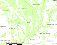 Map commune FR insee code 46332.png