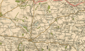 Great Livermere - Image: Map image of Great Livermere