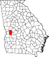 Map of Georgia highlighting Marion County.svg