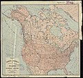 Map of North America showing all routes to Alaska and Klondike country (7557415226).jpg