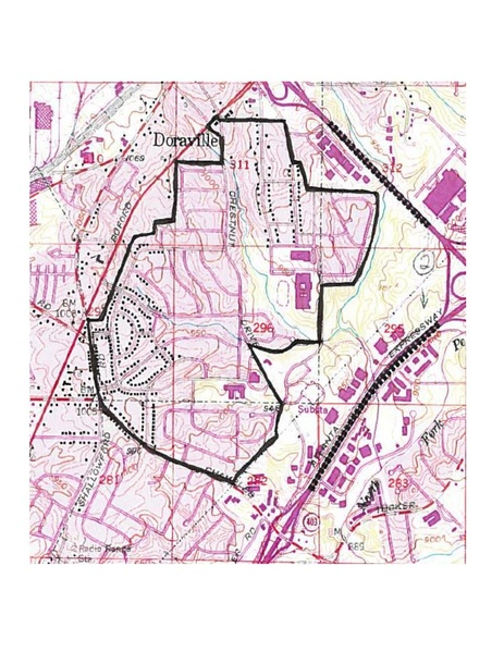 Map Of Georgia Pdf.File Map Of Northwoods Historic District In Dekalb County Georgia