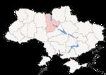 Oblast di Kiev - Mappa di localizzazione
