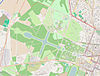 100px map parc du chateau de versailles