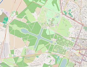 (Voir situation sur carte: parc du château de Versailles)
