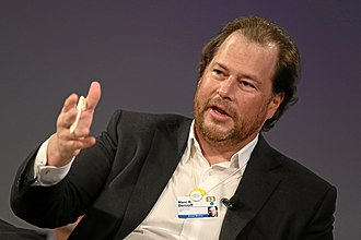 Marc Benioff - Benioff during the WEF 2013