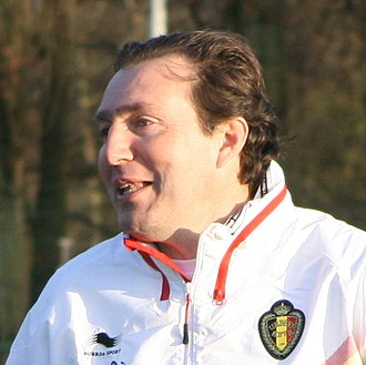 Marc Wilmots - Image: Marc Wilmots (cropped 2)