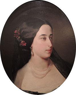 Портрет кисти И. К. Макарова, 1860