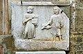 Maria Saal Propsteikirche Suedwand Grabrelief Dienerin und Diener 06012014 566.jpg
