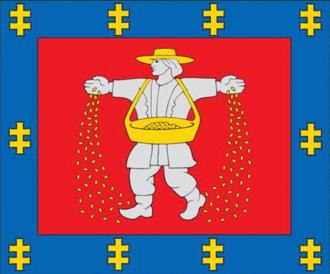 Marijampolė County - Image: Marijampole County flag