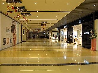 Marina Bay Financial Centre - Marina Bay Link Mall in December 2010