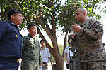 Marine Wing Support Squadron 172 and Royal Thai Air Force explosive ordnance disposal train together during Cobra Gold 2011 DVIDS365914.jpg