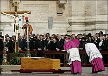 Image result for FUNERAL FOR POPE JOHN PAUL 2005 newspaper articles