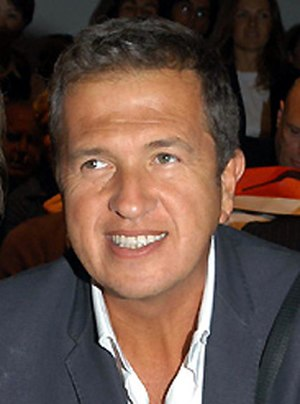 Something to Remember - The album's cover art was shot by Mario Testino (pictured).