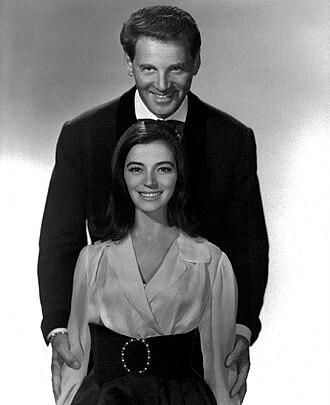 Marisa Pavan - Pavan and husband, Jean-Pierre Aumont, 1965