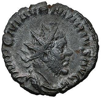 Marcus Aurelius Marius - Coin featuring Marius