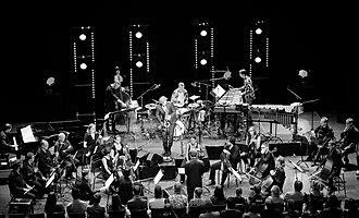 London Sinfonietta - London Sinfonietta at the 2018 Kongsberg Jazzfestival Photo: Tore Sætre
