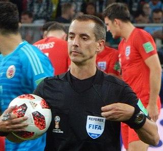 Mark Geiger Soccer referee and math teacher