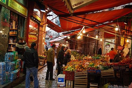 Market Palermo Italy