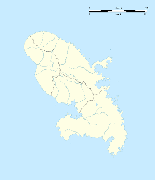 Martinique department location map.svg