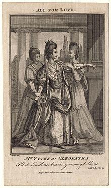 relationship between antony and cleopatra shakespeare
