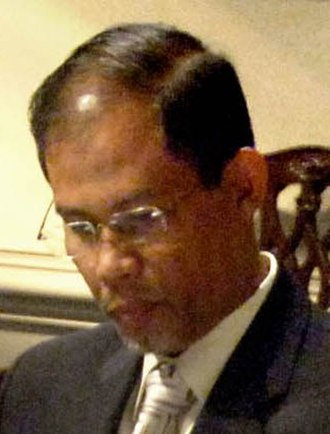 Masagos Zulkifli - Masagos at a working lunch hosted by United States Secretary of Defense Donald Rumsfeld in The Pentagon in October 2006