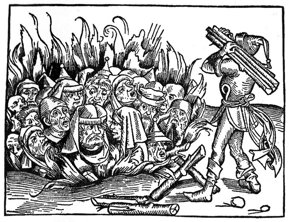 File Massacre Of Jews Woodcut 1493 Jpg Wikimedia Commons