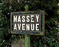 Massey Avenue sign, Belfast - geograph.org.uk - 1654065.jpg