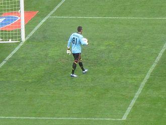 Massimiliano Benassi - Image: Massimiliano Benassi Lecce Roma 4 2 7 aprile 2012