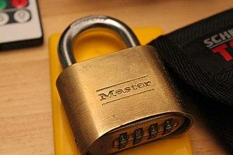 Master Lock - Image: Master Lock 175