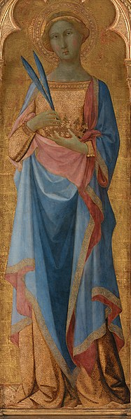 File:Master of Palazzo Venezia Madonna - St. Corona - Google Art Project - crop.jpg