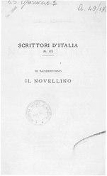 Masuccio Salernitano: Novellino