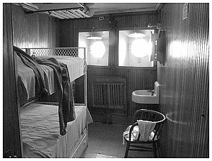 Steamship William G. Mather Maritime Museum - Image: Mather Room 1