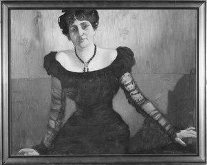Matilda Jungstedt (1864-1923), opera- och konsertsångerska, gift med 1. operasångaren Emil Alexander Linden, 2. konstnären Fritz Emanuel Reutersvärd