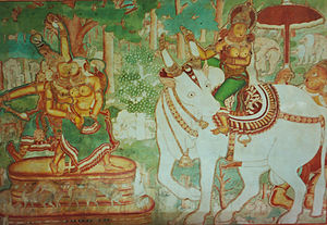 Mattancherry Palace - Several murals depicting Hindu religious art adorn the walls of the Palace.