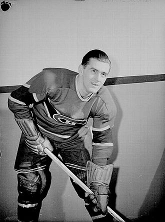 Montreal Canadiens - Image: Maurice Richard 1945