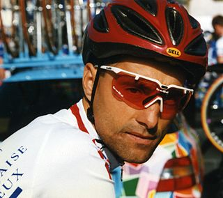 Mauro Gianetti Directeur sportif and former road bicycle racer