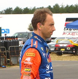 Max Angelelli - Angelelli at the New Jersey Motorsports Park in 2008