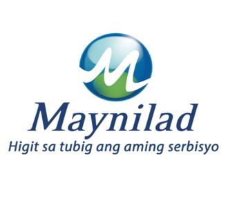 Maynilad Water Services - Image: Maynilad logo with Tagline