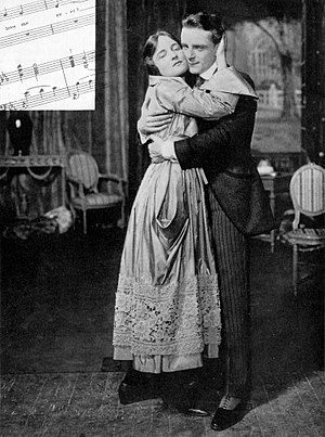 Maytime (musical) - Peggy Wood and Charles Purcell in the original Broadway production of Maytime