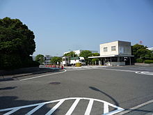 Mazda factory in Hiroshima Japan The east front gate.JPG