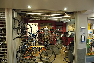 McDonald's Cycle Center - A repair shop offers professional mechanic service.