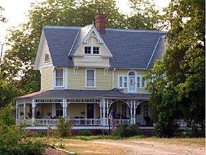 Person–McGhee Farm - The historic Person–McGhee Farm located near Franklinton, North Carolina.