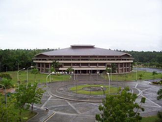 Philippine Science High School Central Mindanao Campus - Mindanao Civic Center grounds and gymnasium