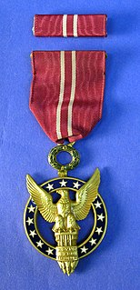 Medal for Merit former US civilian decoration