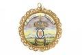 Medaljong från 1700-talet - Livrustkammaren - 97830.tif