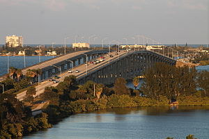 Melbourne Causeway - Image: Melbourne Causeway