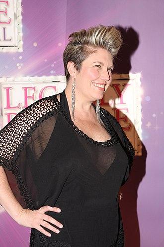 Melinda Schneider - Melinda Schneider in 2012 attending Legally Blonde: The Musical